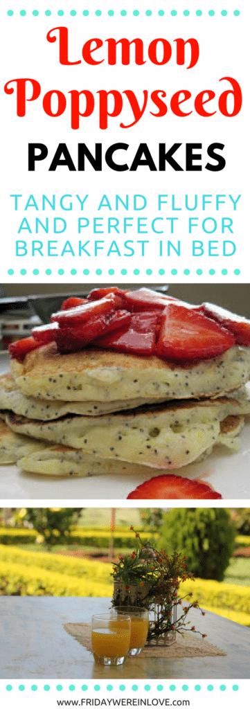 Lemon Poppyseed Pancake Recipe