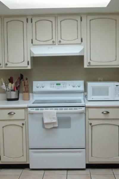 Kitchen Makeover-cabinet update