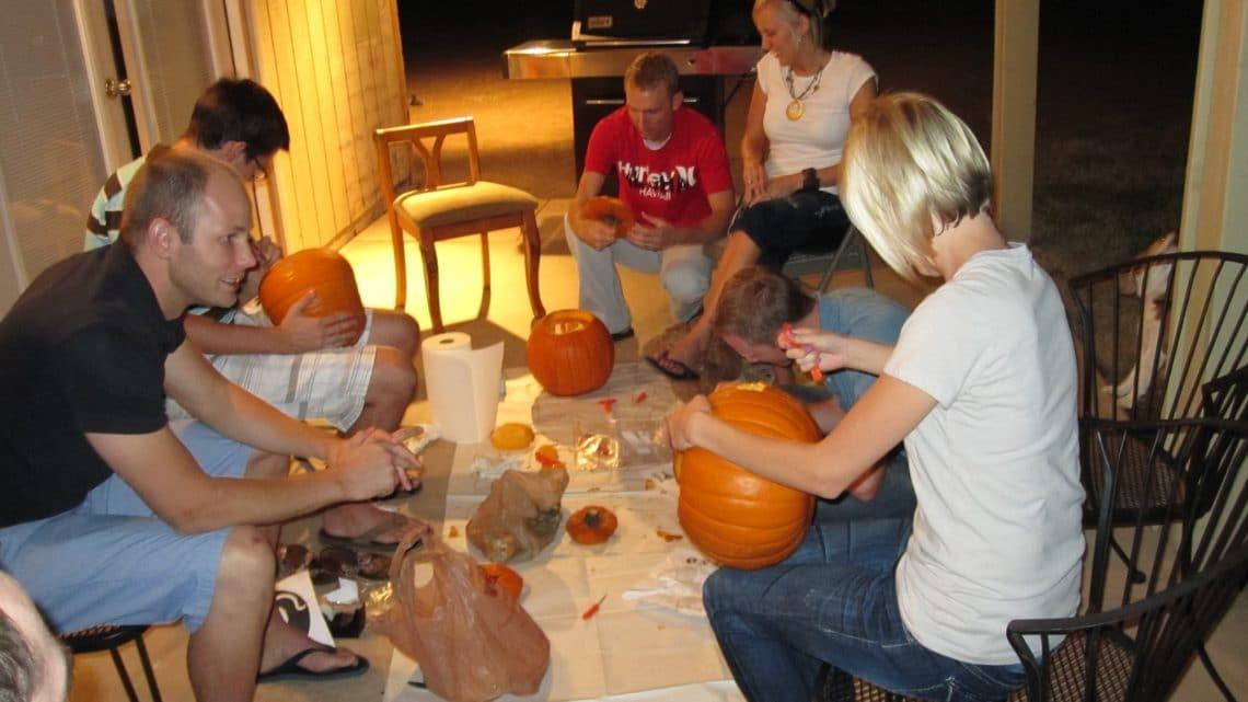 pumpkin carving group date