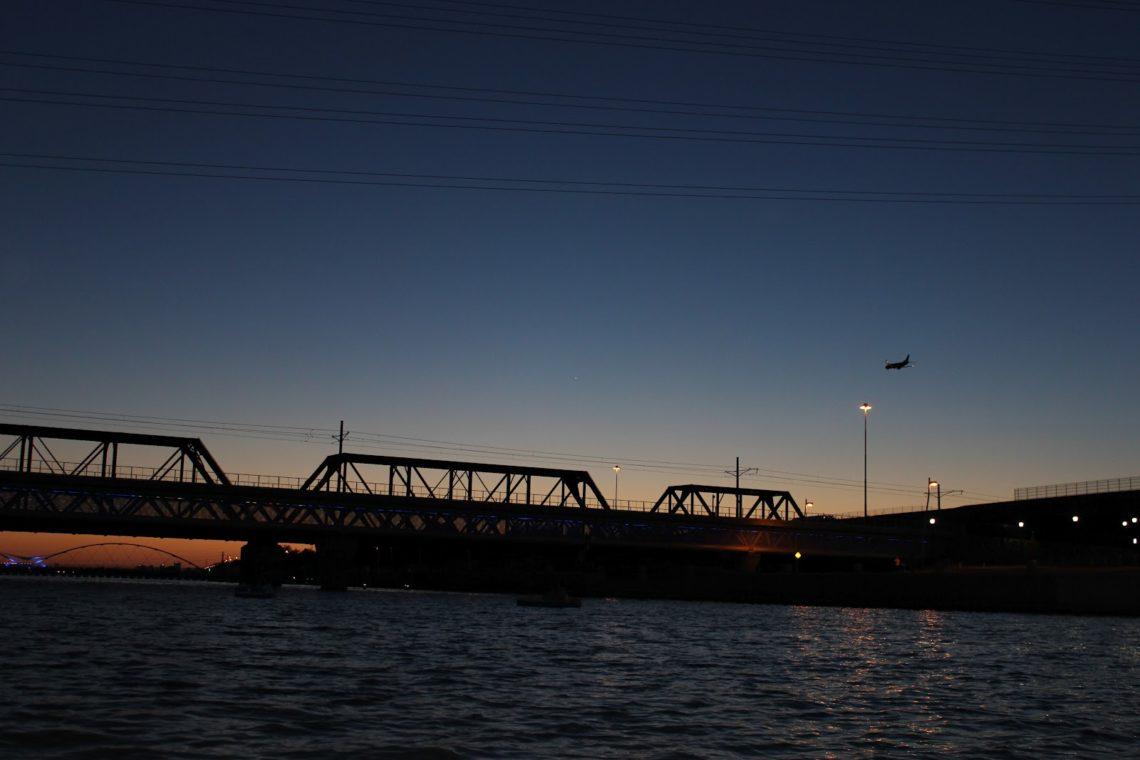 Sunset Paddle Boats