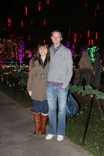 12 Months of Dates December: Temple Lights and Hot Chocolate