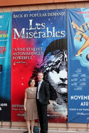 I Dreamed a Dream: Les Miserables Date