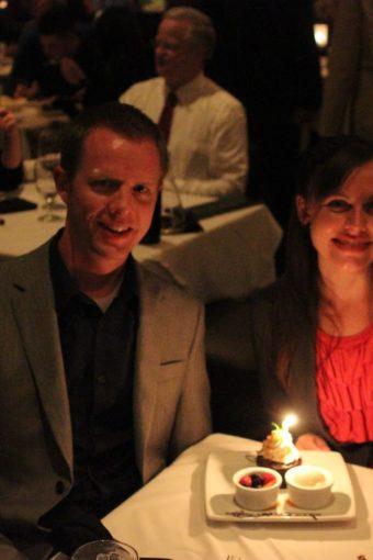 Romantic Birthday Dinner at Ruth's Chris
