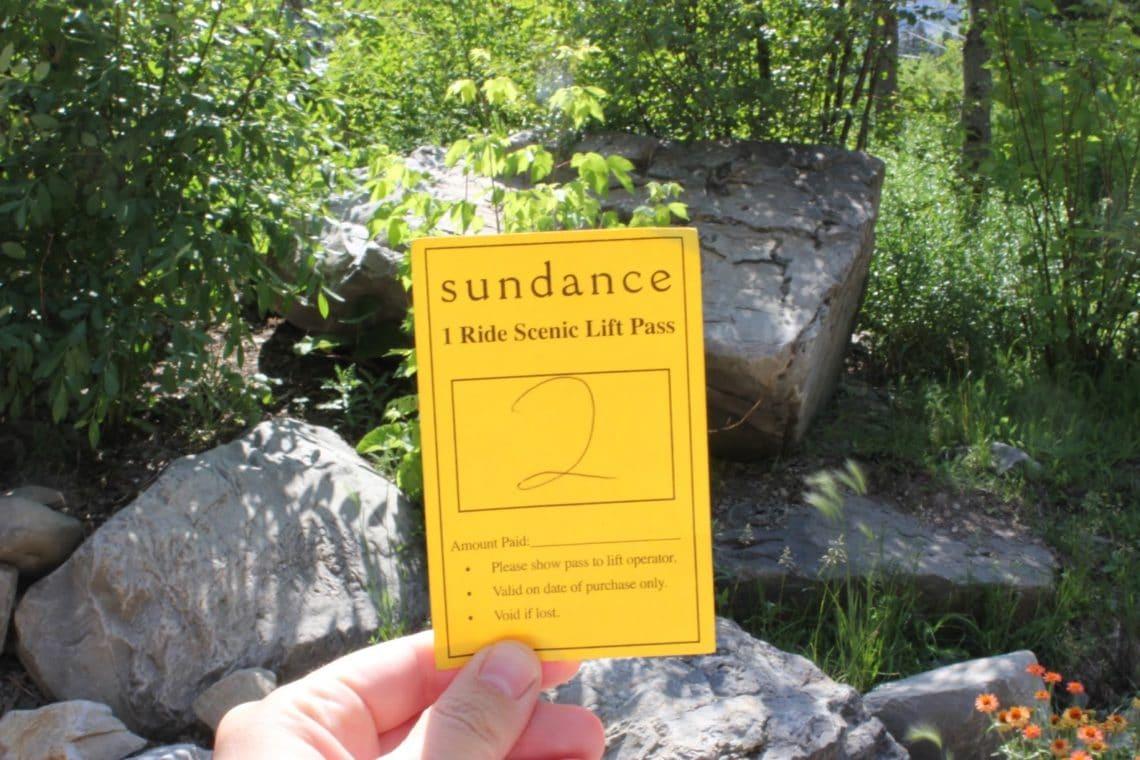 Scenic Lift at Sundance Resort