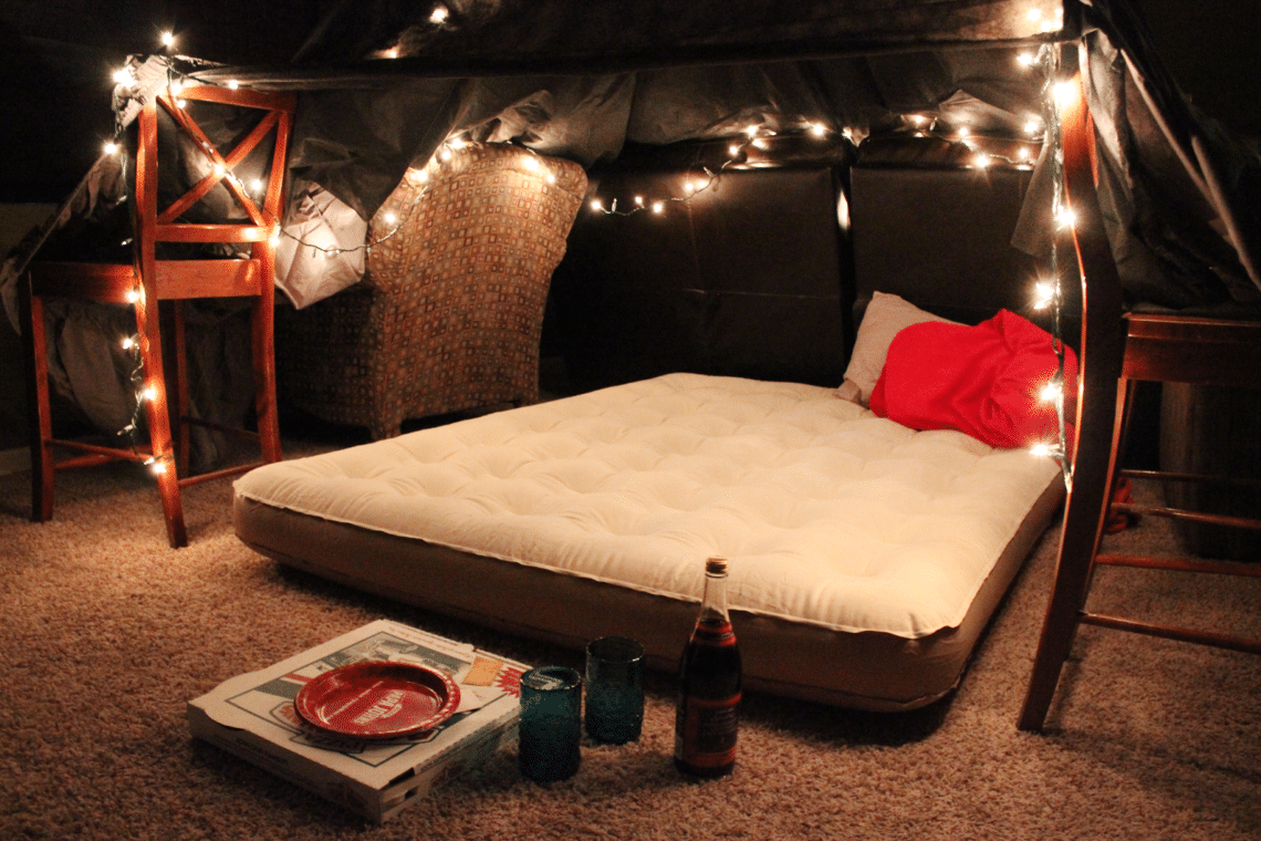 Pillow Fort Date Movie Nights