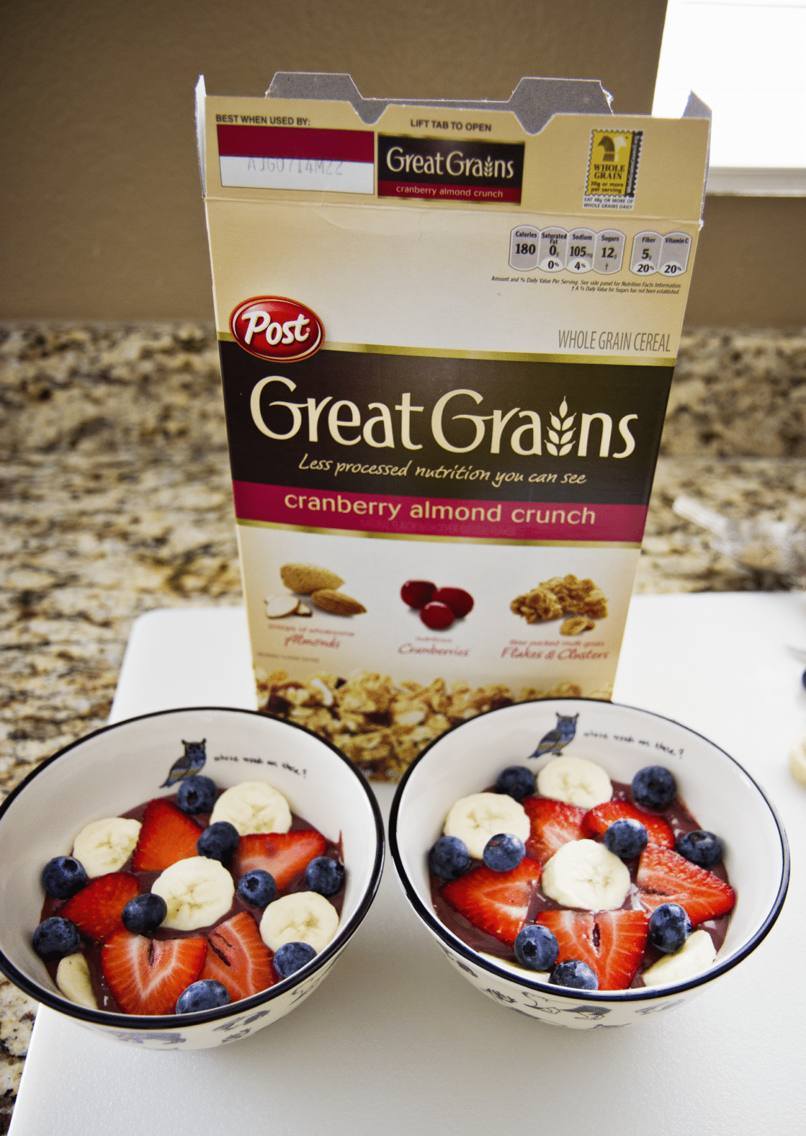 Post Great Grains Cereal Recipe
