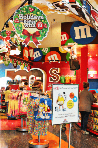 Las Vegas Getaway: M&M Factory