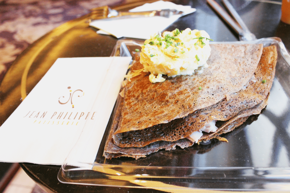 Crepes at The Bellagio