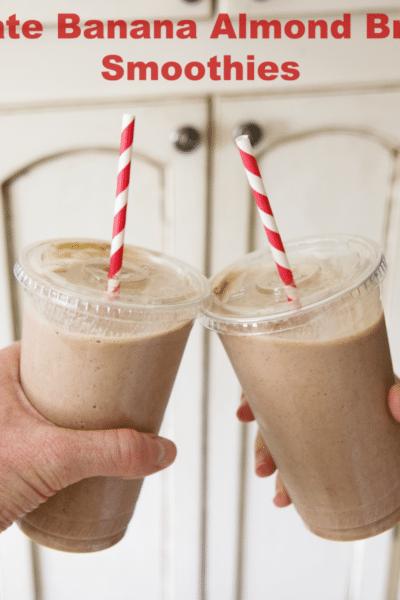 Chocolate Banana Almond Smoothie Recipe