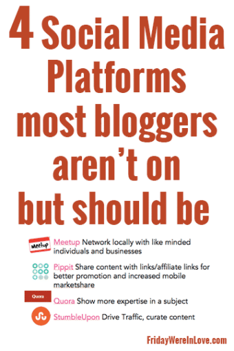 4 Social Media Platforms Most Bloggers Aren't on But Should Be