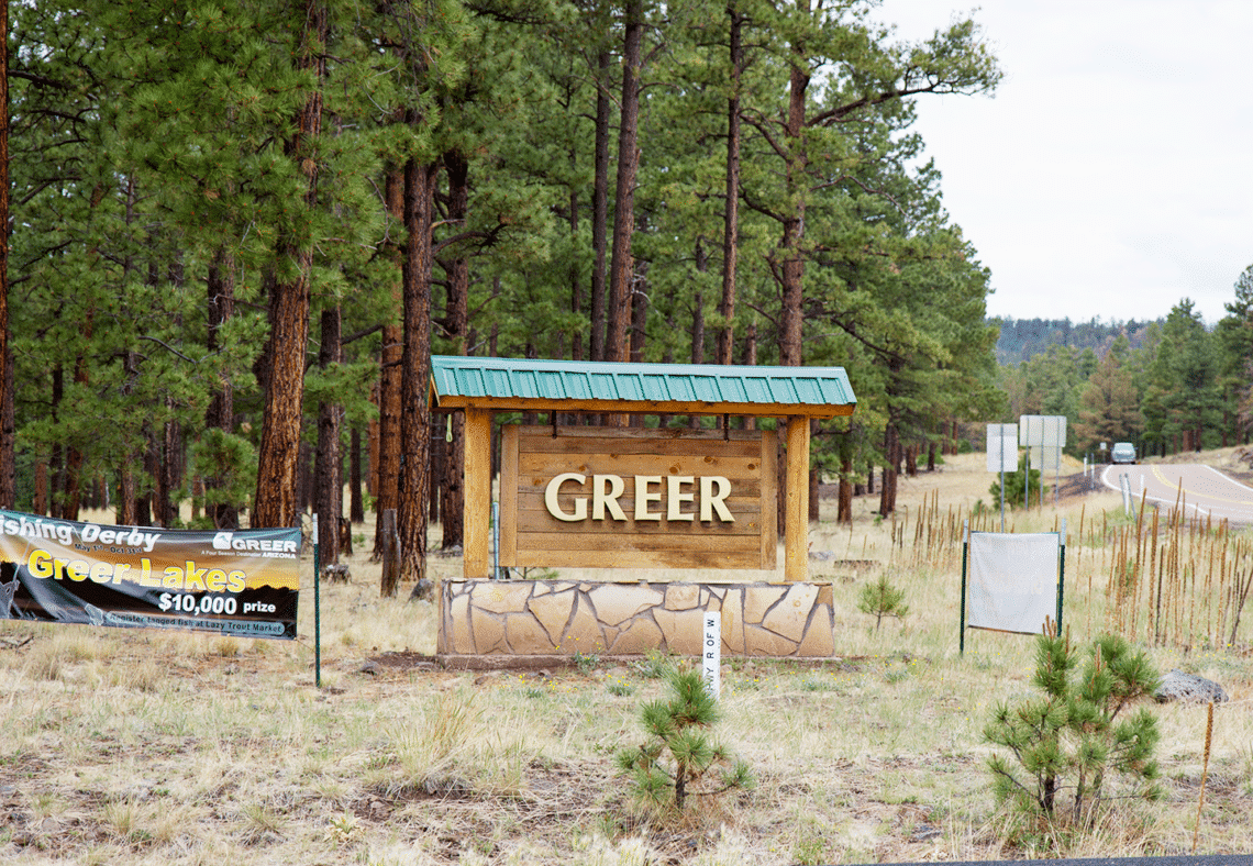 greer in cabins cabin arizona rentals trout lazy listing