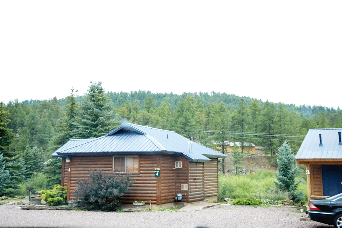 not cabin rentals can greer town comfortable the in little cabins be but overlooking rented semrow colorado bicycles included rental s