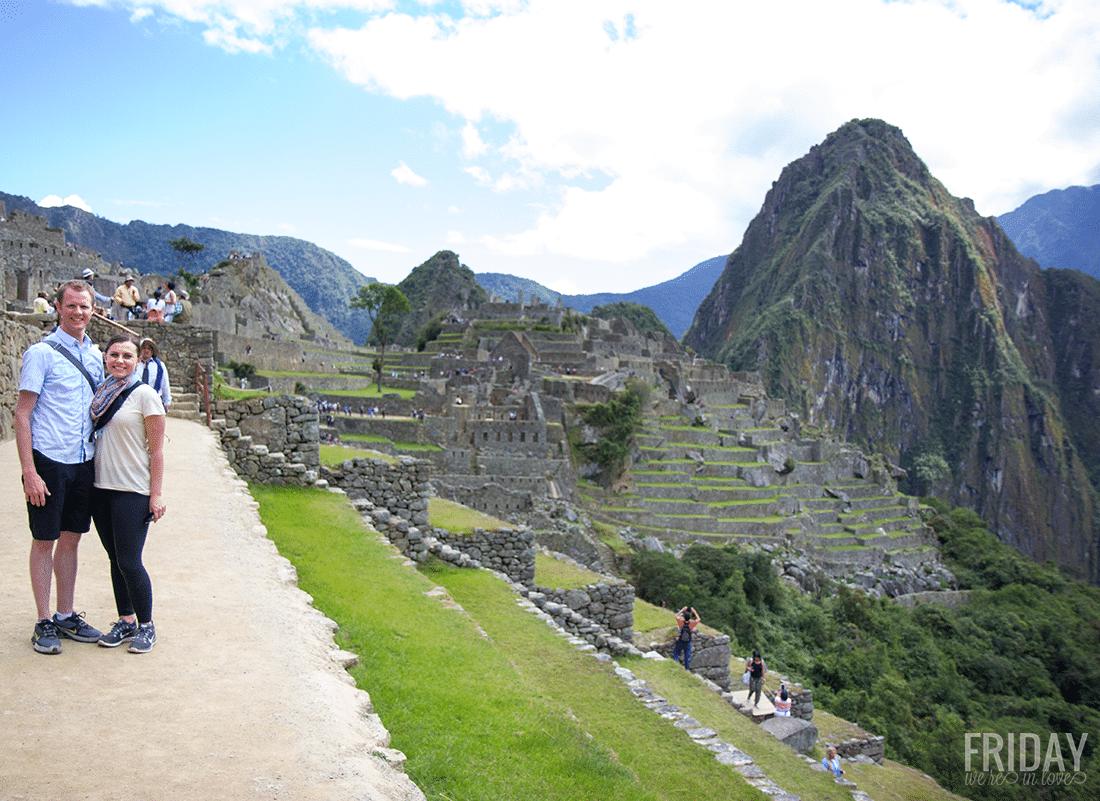 Ancient Machu Picchu in Peru