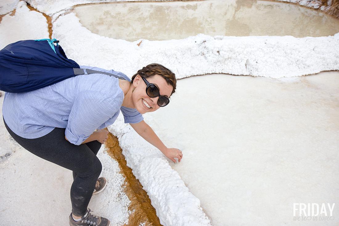 Salt Ponds in The Sacred Valley Peru