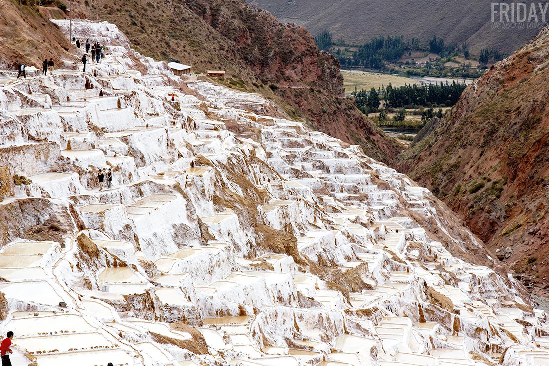 Maras Salt Ponds Peru