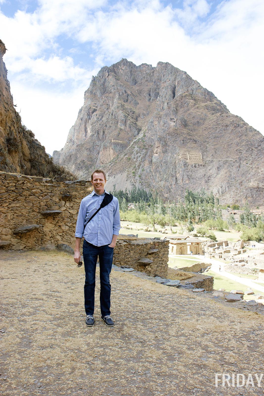 Ollantaytambo Ruins in Peru