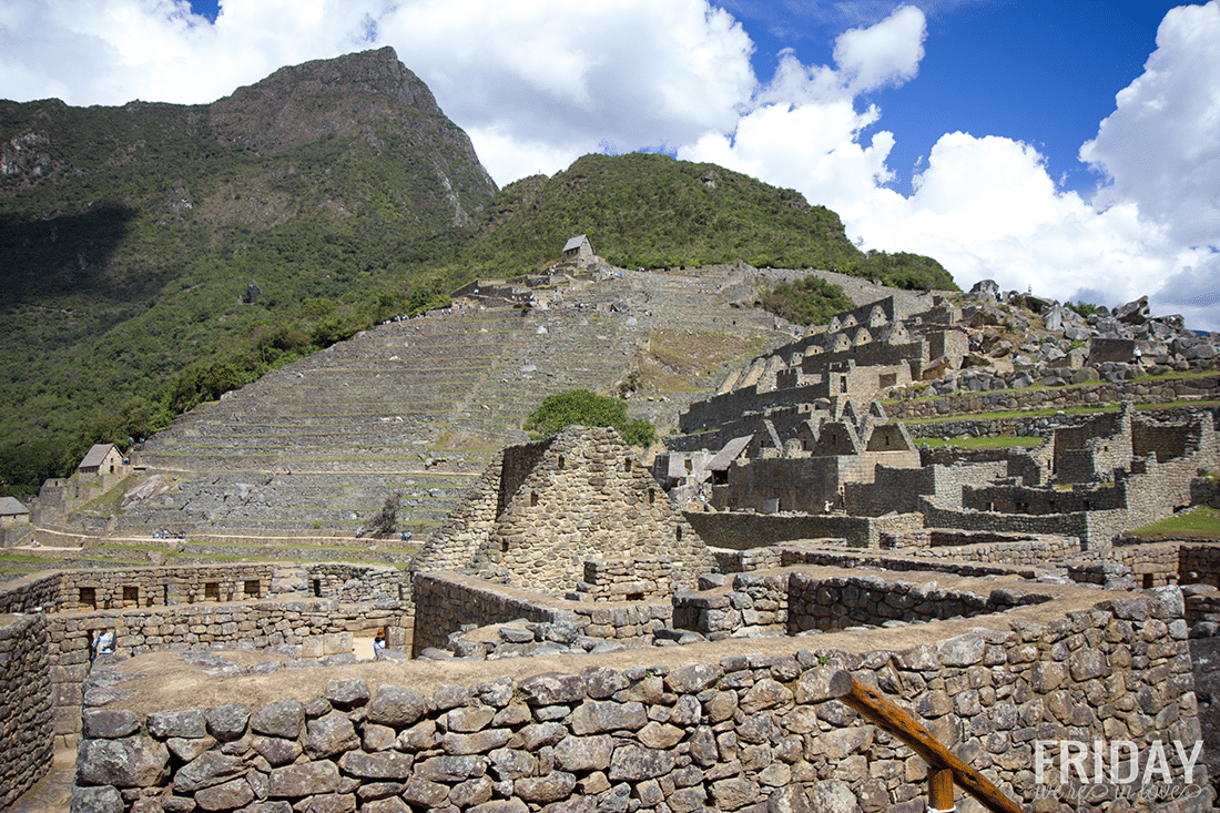 Machu Picture view from the bottom