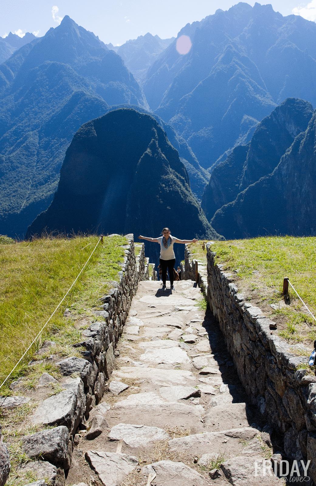 Machu Picchu- Epic View!