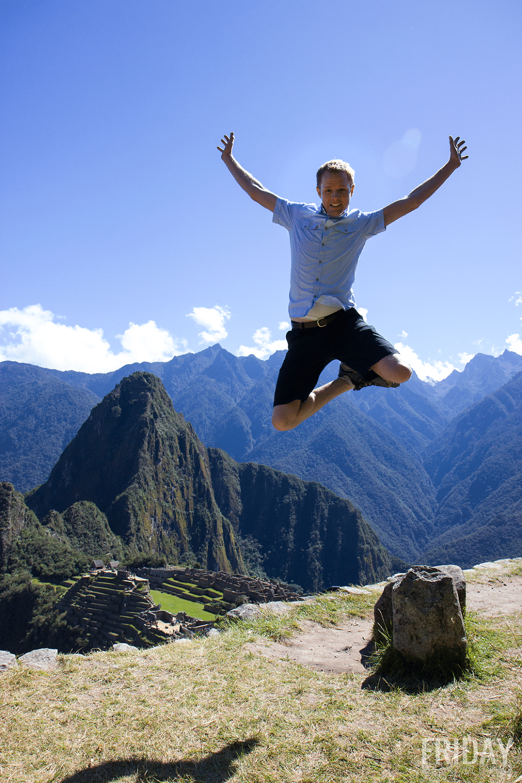 Bucketlist Picture- Machu Picchu Jumping