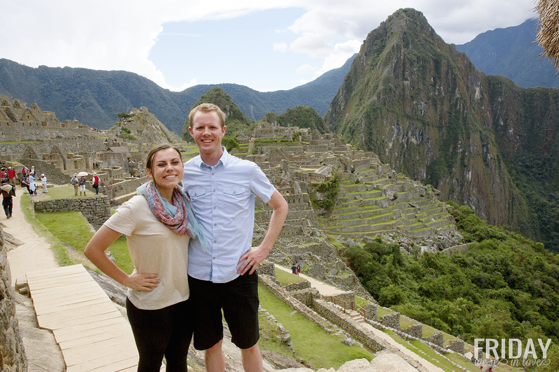 Gatekeeper's Inn Perfect Shot of Machu Picchu