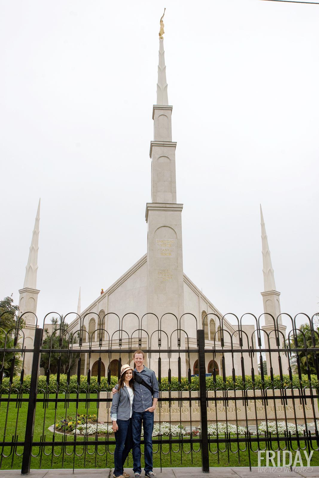 Lima Peru Temple