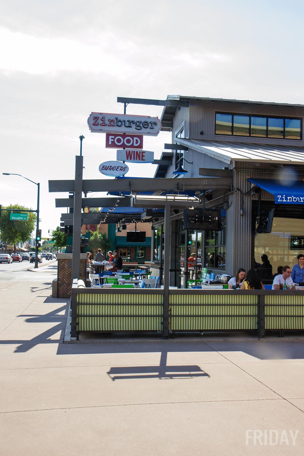 Zinburger Downtown Gilbert