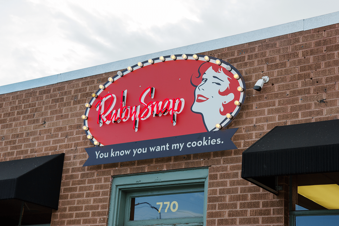 Ruby Snap Cookies- Salt Lake City Utah