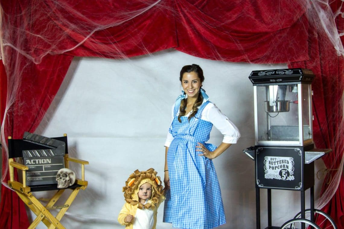 wizard of oz mom and baby costume