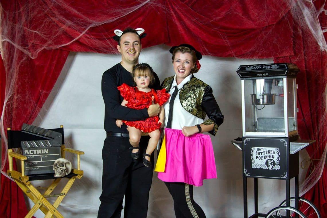 Bullfighter baby costume