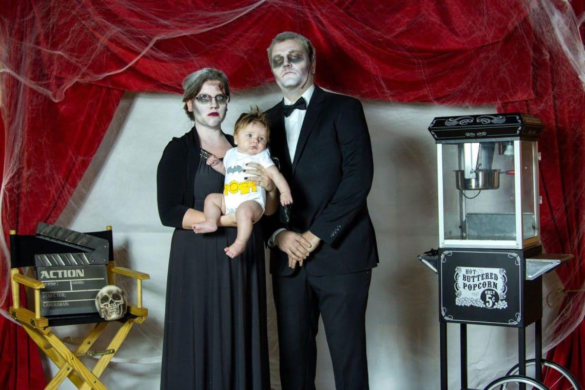 Baby Bruce Wayne parents costume
