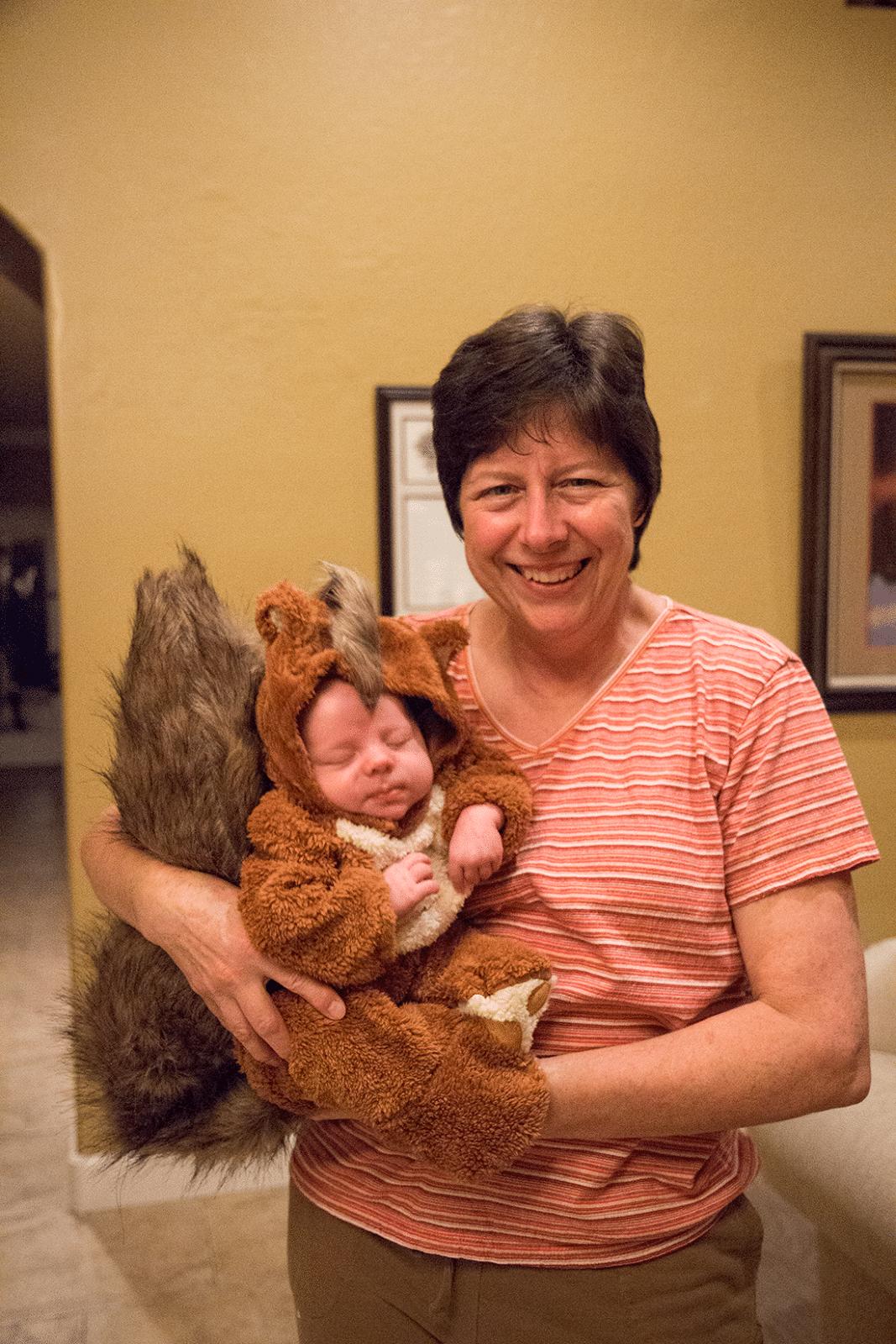 Baby squirrel Halloween costume