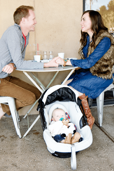Brunching the perfect new parent date