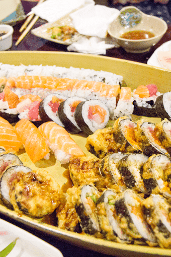 Boatloads of Sushi