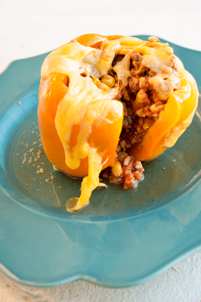Freezer Meal Stuffed Bell Peppers