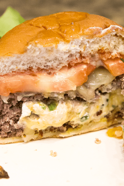 Jalepeno Popper Burger Recipe and Video Tutotorial