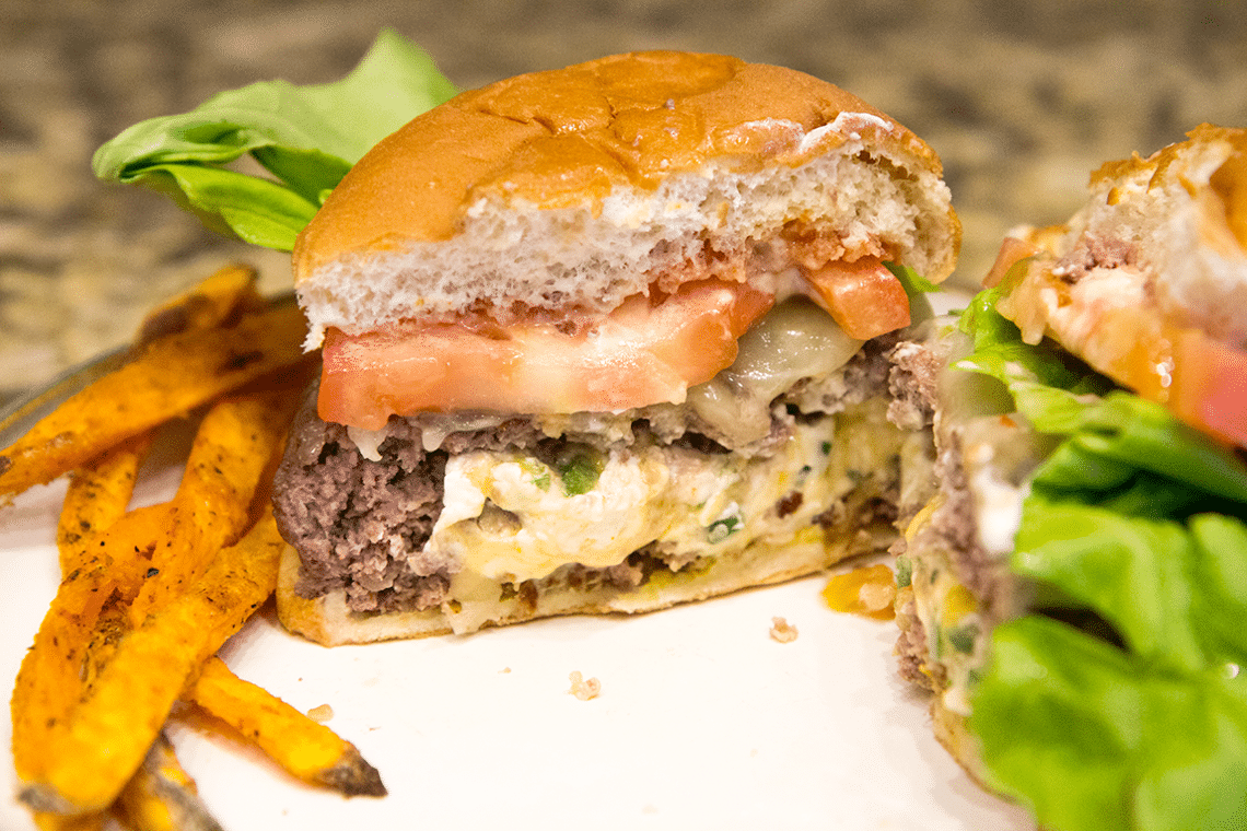 How to Make the Perfect Sandwich- Jalapeno Popper Burger ...