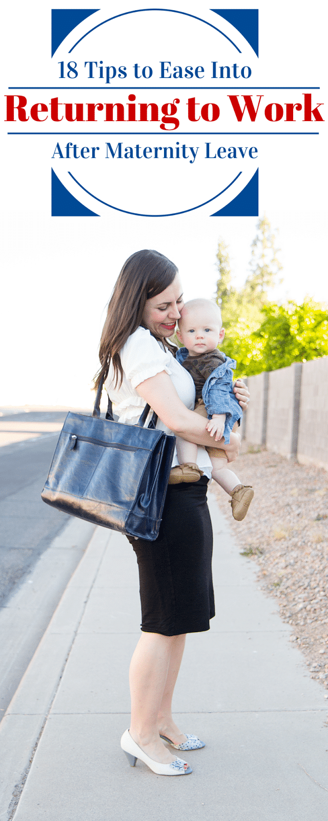 When I left for maternity leave on a Friday knowing I'd be induced on  Monday I was afraid. Not so much of labor and delivery as a first time mom,  ...