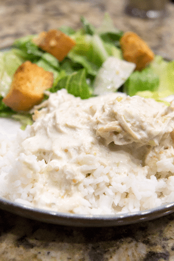 Dinner in 5 Minutes: Crock Pot Creamy Salsa Verde Chicken