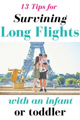 Surviving Long Plane Rides With an Infant or Toddler: 13 Tips For Flying with a Baby