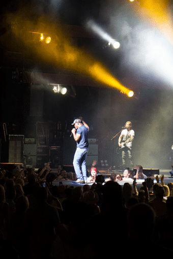 Darius Rucker Concert and A Walk Down Memory Lane