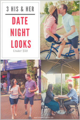 3 His and Her Summer Date Night Looks for Under $50 with Kohl's