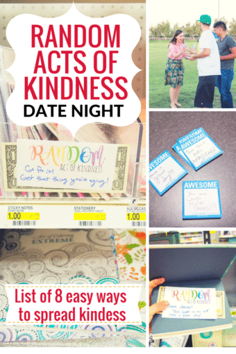 Random Acts of Kindness Date: Part 2: And a Video!