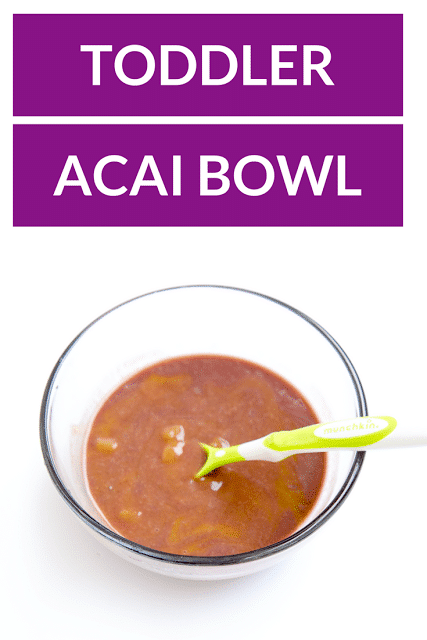 Easy Toddler Acai Bowl Recipe Friday We Re In Love