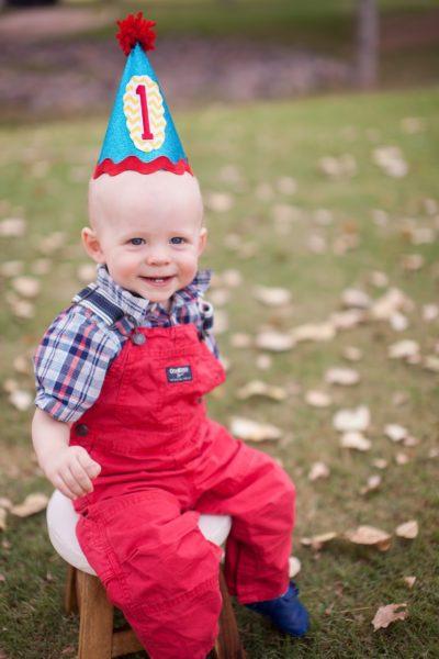1st Birthday DIY Hat