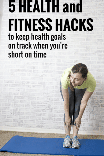 5 Health and Fitness Hacks to Stay on Track with Resolutions During Your Busiest Weeks