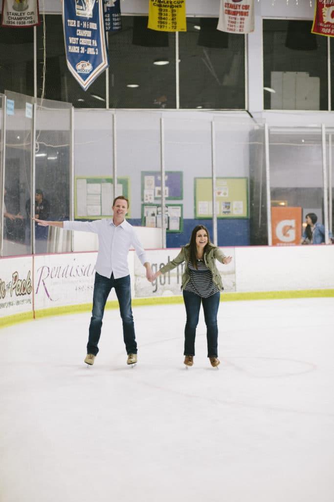 Ice Skating Date Night