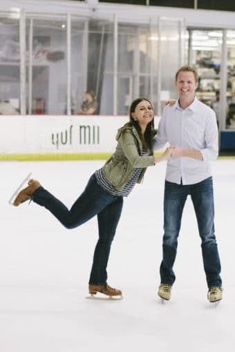 Ice Skating Date Night