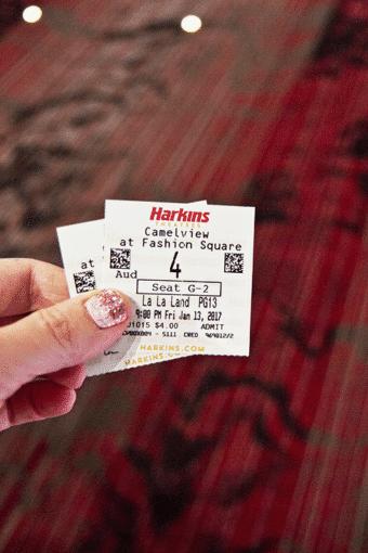 Last Minute Movie Date – La La Land