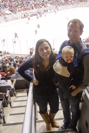 NHL Hockey Game Date Night