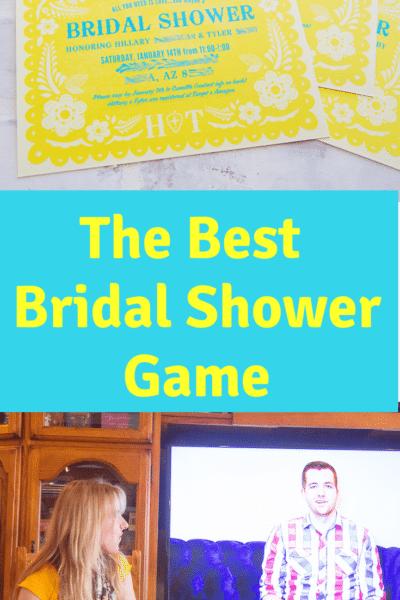 The Funnest Bridal Shower Game